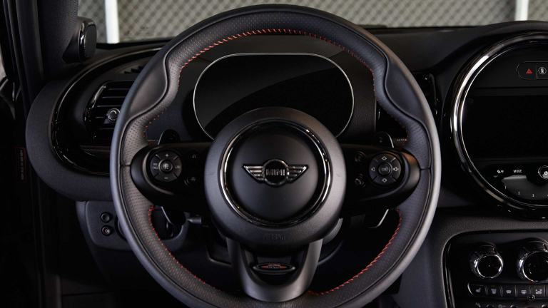 JCW Leather steering wheel