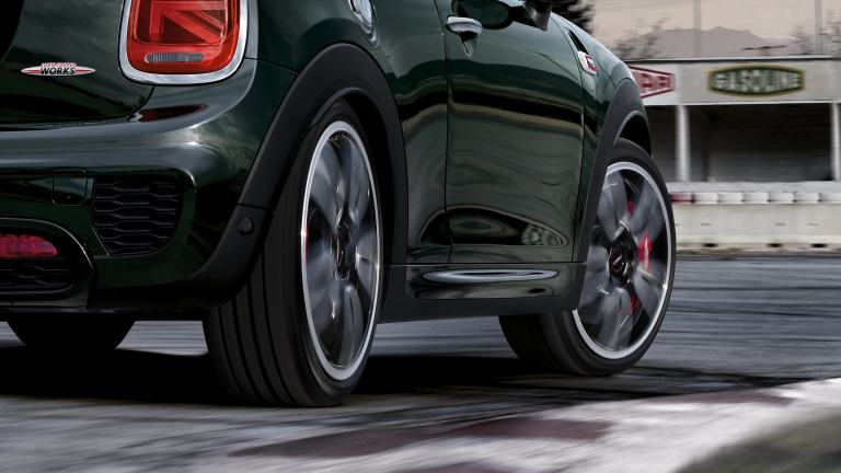 JCW side view