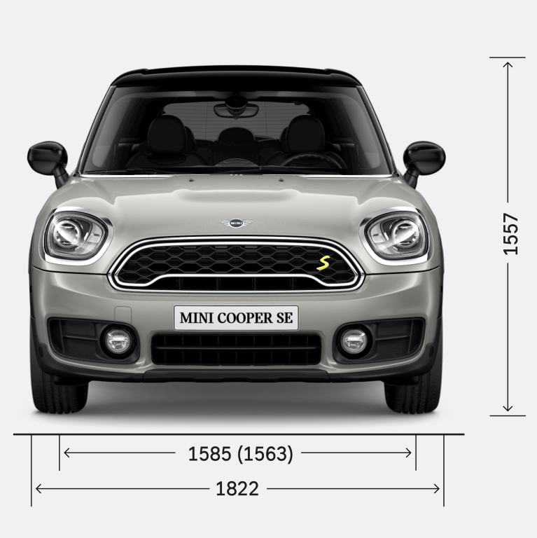 MINI Countryman plug-in hybrid – FRONT